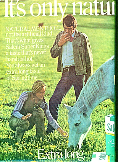 1971 -  Salem menthol cigarettes ad (Image1)