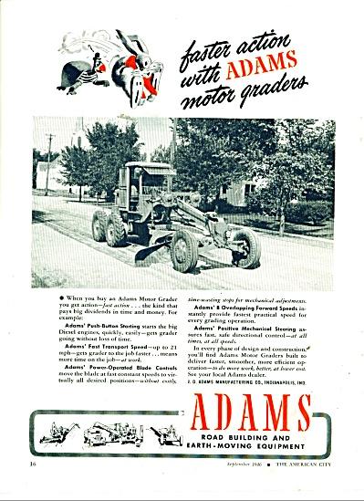 Adams road building & earth moving equipment (Image1)
