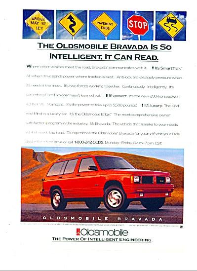 1992 -  Oldsmobile Bravada ad (Image1)