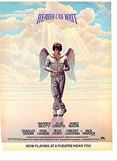 1978 - Movie: Heaven can wait - WARREN BEATTY (Image1)