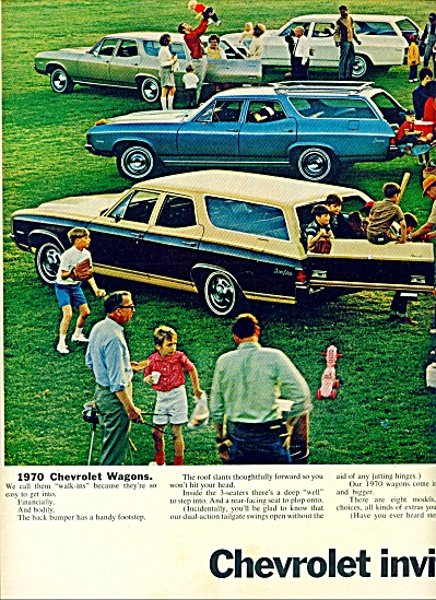 1969 -  Chevrolet station wagons ad (Image1)