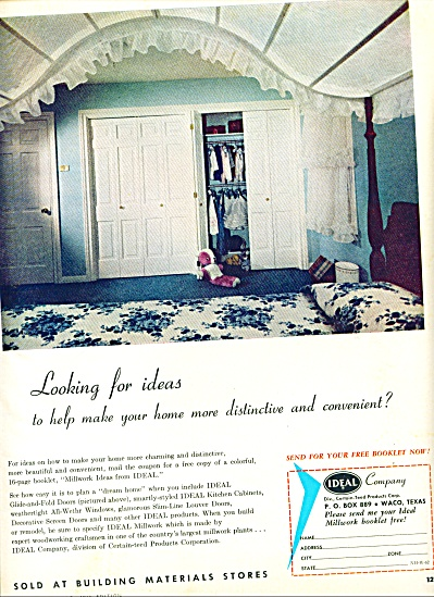 1963 - Ideal Company ad (Image1)