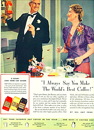 1941 -  A  & P coffee ad (Image1)