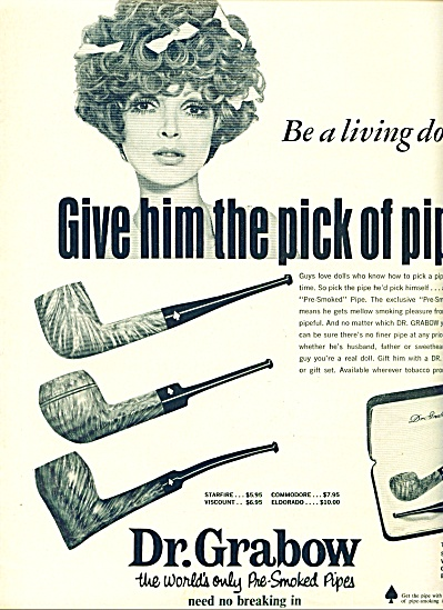 1968 -  Dr.Grabow pre smoked pipesad (Image1)