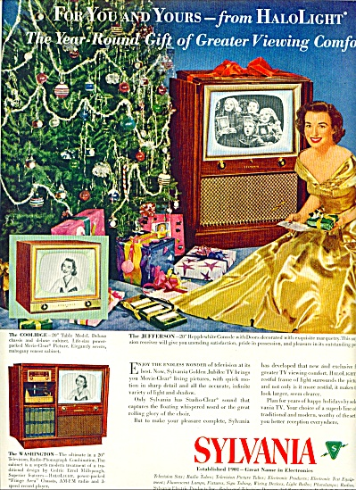 1951 - Sylvania television ad (Image1)