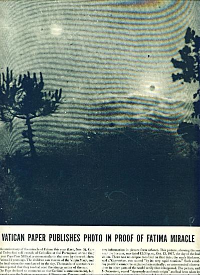 1951 - Fatima Miracle photo (Image1)