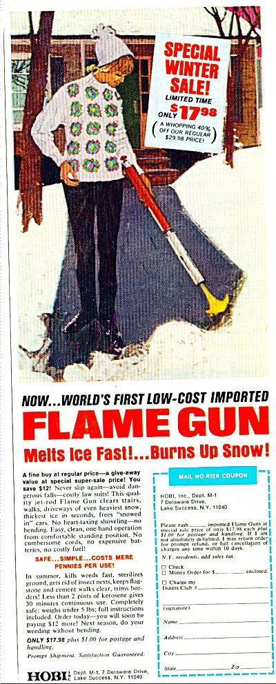 1970 - Flame gun ad (Image1)