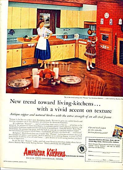 1956 -  American Kitchens ad (Image1)