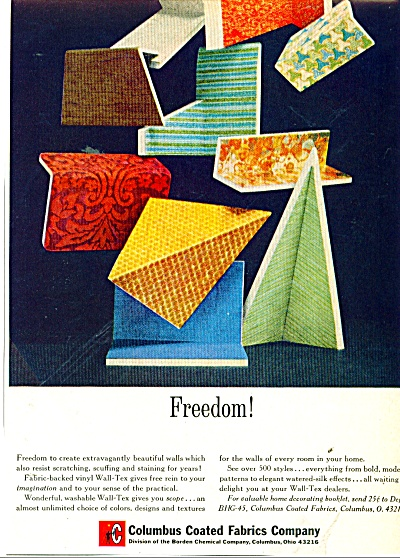 Columbus coated fabrics company ad 1965 (Image1)