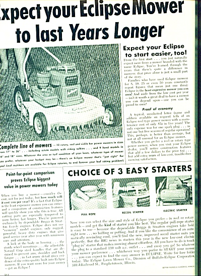 1956 -  Eclipse mower ad (Image1)