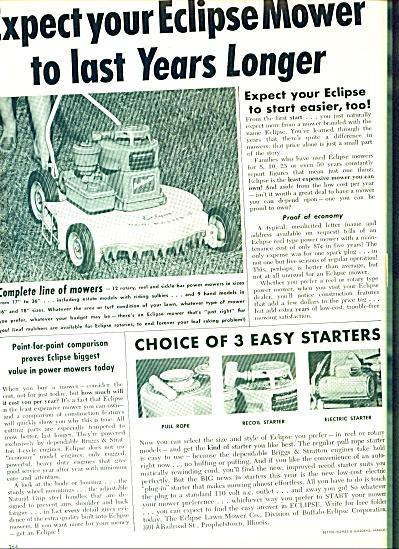 1956 -  Eclipse mower ad (Image1)