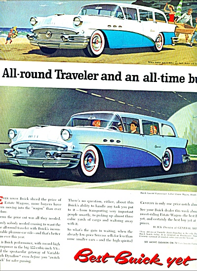 1956 - Buick Special 6 Passenger Estate Wago