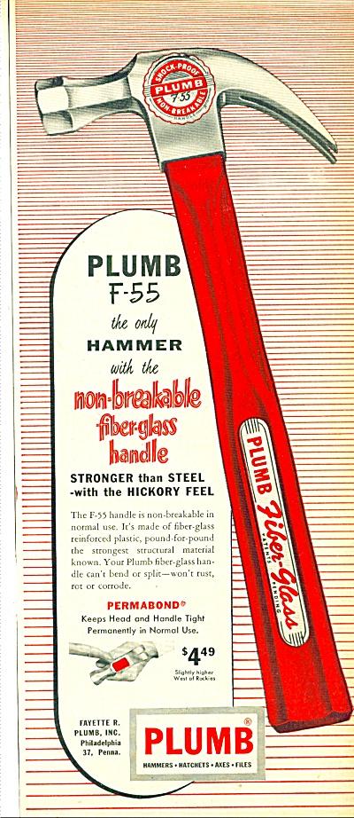 1956 - Plumb hammer ad (Image1)