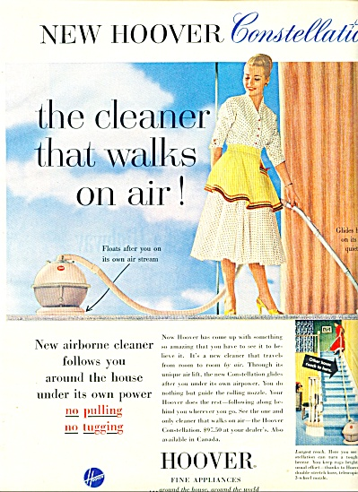 1956 - Hoover Fine Appliances Ad