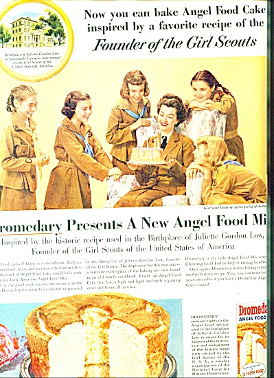 1956 - Dromedary Angel Food Cake