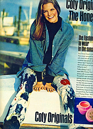 1971 - Coty Originals Ad Joan Thompson Model