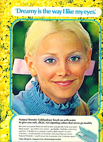 1971 - Natural Wonder by Revlon ad (Image1)