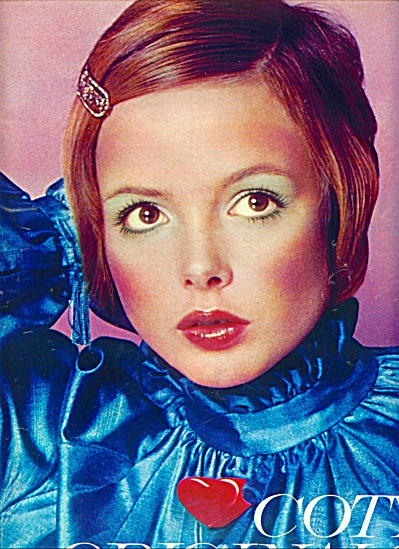 1971 -  Coty Originals REDHEAD MODEL AD (Image1)