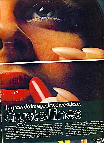 1971 -  Aziza crystallines ad MODEL (Image1)