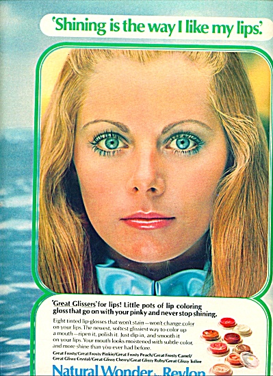 1971 - Revlon Ad Model Joanne Vitelli