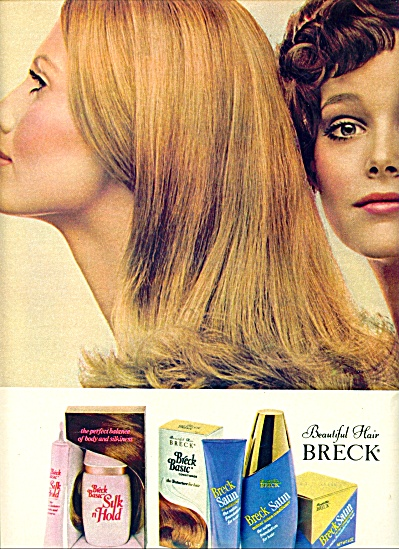1971  Breck AD Models MAUDE ADAMS LUCY ANGLE (Image1)