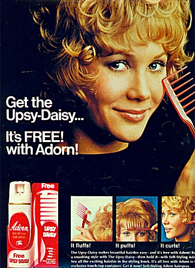1971 - Adorn UPSY DAISY AD BLONDE MODEL (Image1)