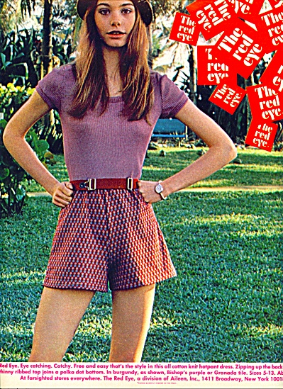 1971 - The Red Eye dress ad (Image1)