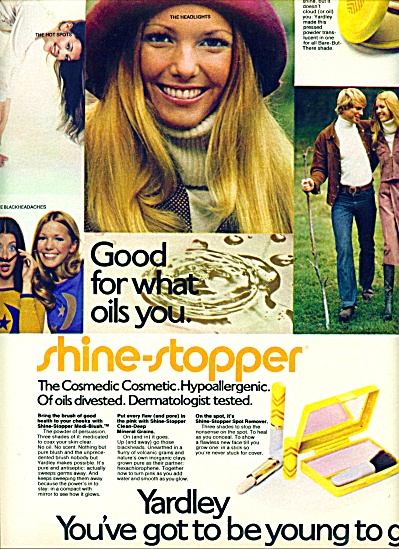 1971 - Yardley cosmedic cosmetic ad (Image1)
