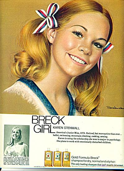 1971 -  Breck Girl - KAREN STENWELL (Image1)