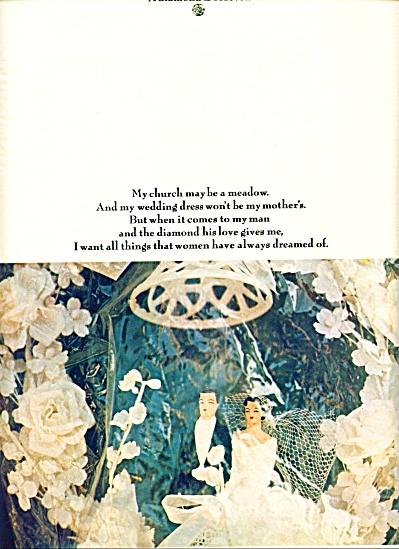 1971 -  DeBeers Diamonds ad (Image1)