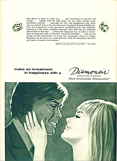 1971 - Diamonair- simulated diamond ad (Image1)