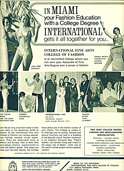 1971 - International fine arts college (Image1)