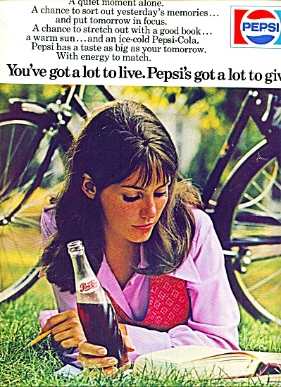 1971 -  Pepsi Cola ad (Image1)