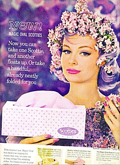 1962 - Scotties facial tissues (Image1)