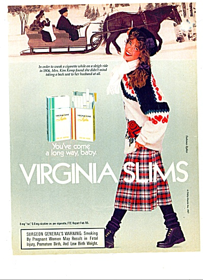 Virginia slims cigarettes. (Image1)