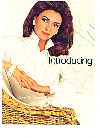 1985 = Cover Girl Make Up - Jennifer O'neil