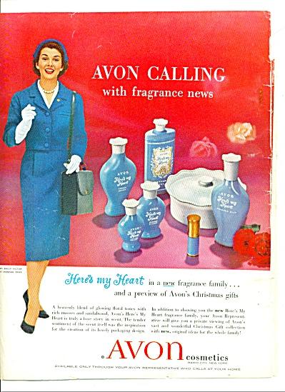 1958 - Avon cosmetics ad (Image1)