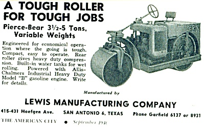 Lewis Manufacturing o. - Street rollers mfg. (Image1)