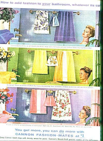 1961 -  Cannon towels (Image1)