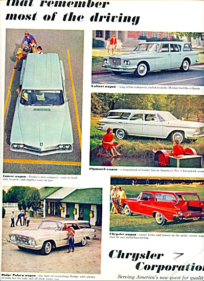 1961 - Chrysler Corporation Cars Ad