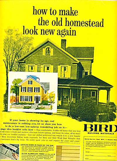 1961 -  Bird building materials ad (Image1)
