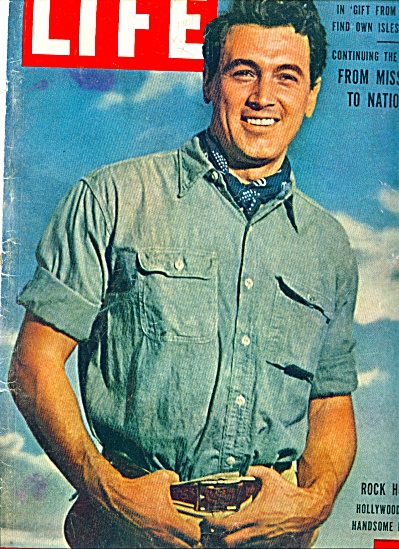 1955 - Cover Picture of ROCK HUDSON (Image1)