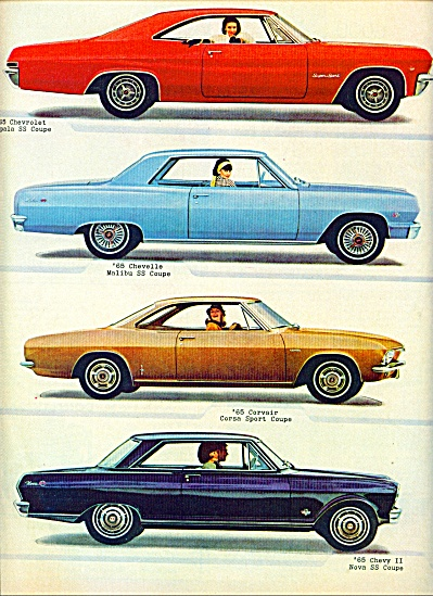 1964 - Chevrolet For 1965 Ad