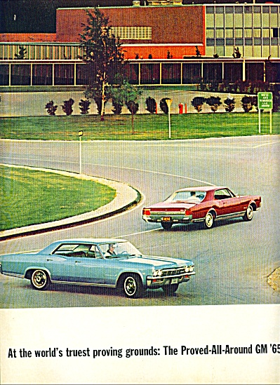 1964 -  General motors cars for 1965 (Image1)