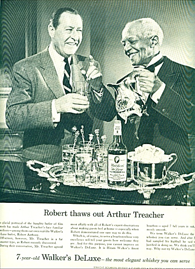 1955 - Walkers deluxe whiskey-ARTHUR TREACHER (Image1)