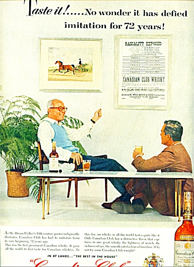 1957 - Canadian Club whisky ad (Image1)