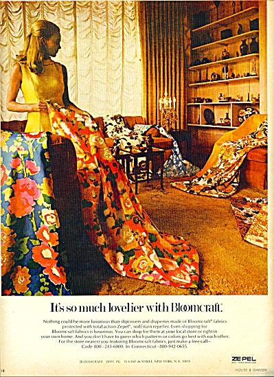 1969 -  Bloomcraft fabircs ad (Image1)