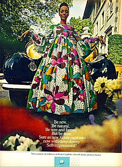 1969 - Kotex napkins ad (Image1)