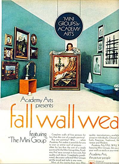 1969 -  Acamemy Arts ad (Image1)