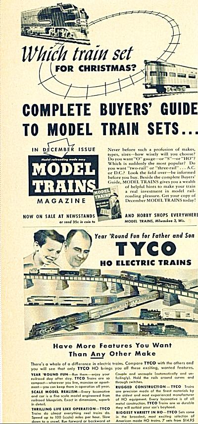 1955 -  TYCO  HO electric trains (Image1)
